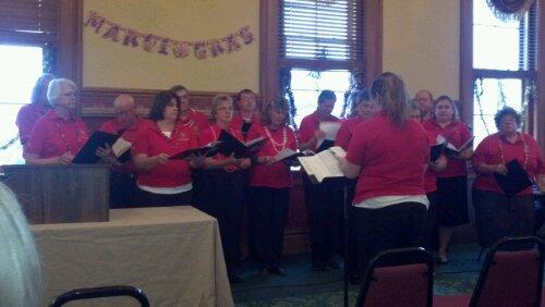The Troy Strawberry Festival Choir