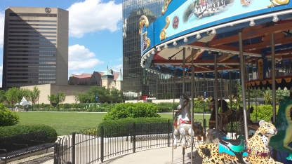 Columbus Commons Merry Go Round