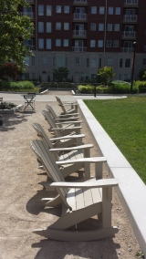 Columbus Commons - Deck Chairs