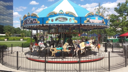 Columbus Commons Carousel