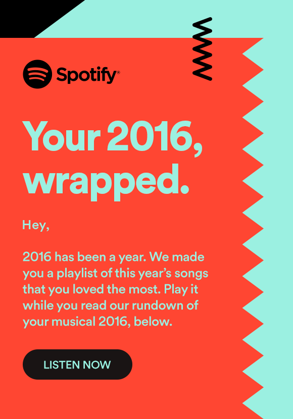 Spotify 2016 Usage Report
